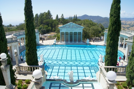 Neptune Pool of Hearst Castle