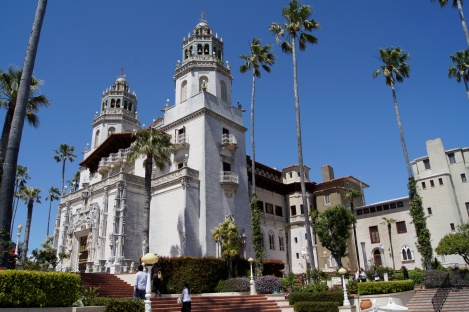 Hearst Castle from the outside