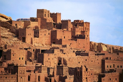Old Morocco Village on Hill