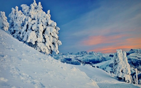 sunset-over-winter-mountains-293244