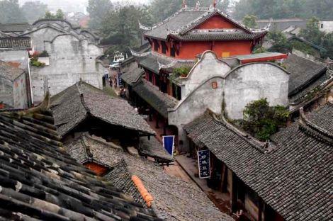 chengdu dintorni Huanglongxi